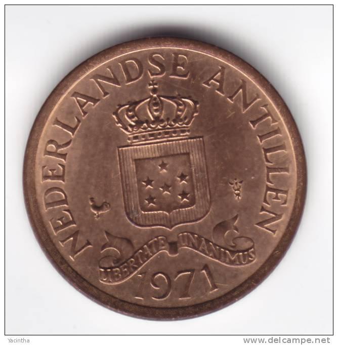 @Y@   Nederlandse Antillen    1 Cent 1971  UNC   (C161) - Netherland Antilles