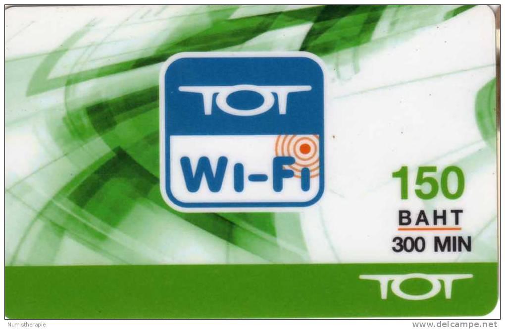 Télécarte TOT Wi-Fi 150 Baht 300 Min - Thaïlande