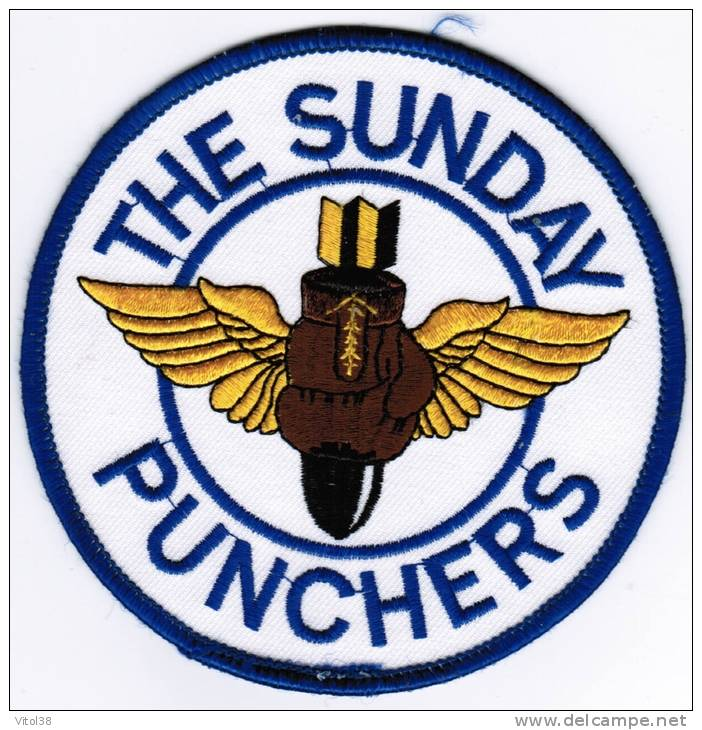PATCH ECUSSON THE SUNDAY PUNCHERS - Aviation