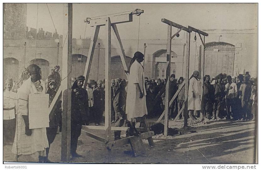 Ottoman Empire Unused Picture Postcard Execution Of Prisoners (Armenians ?) - Prigione E Prigionieri