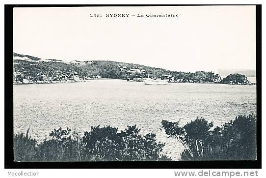 AUSTRALIE SYDNEY / La Quarantaine / - Sydney