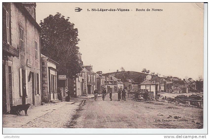 Saint Léger Des Vignes - Route De Nevers ( ETAT ) - France