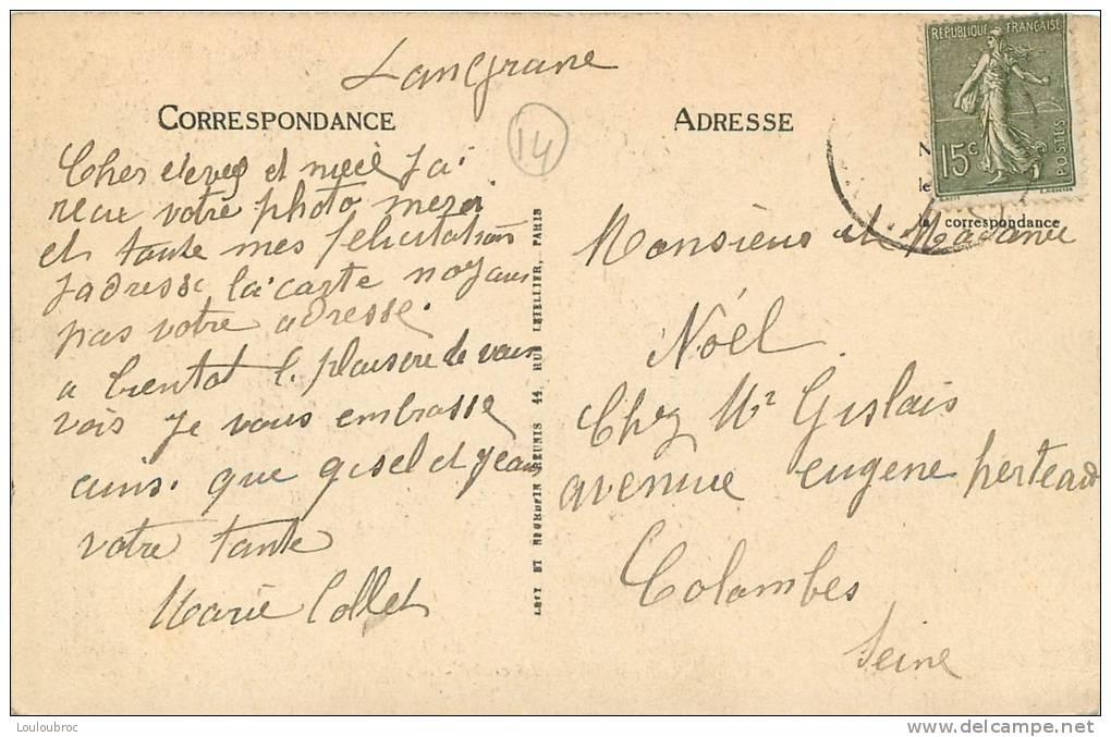 14 LANGRUNE VIEILLES MAISONS NORMANDES - France