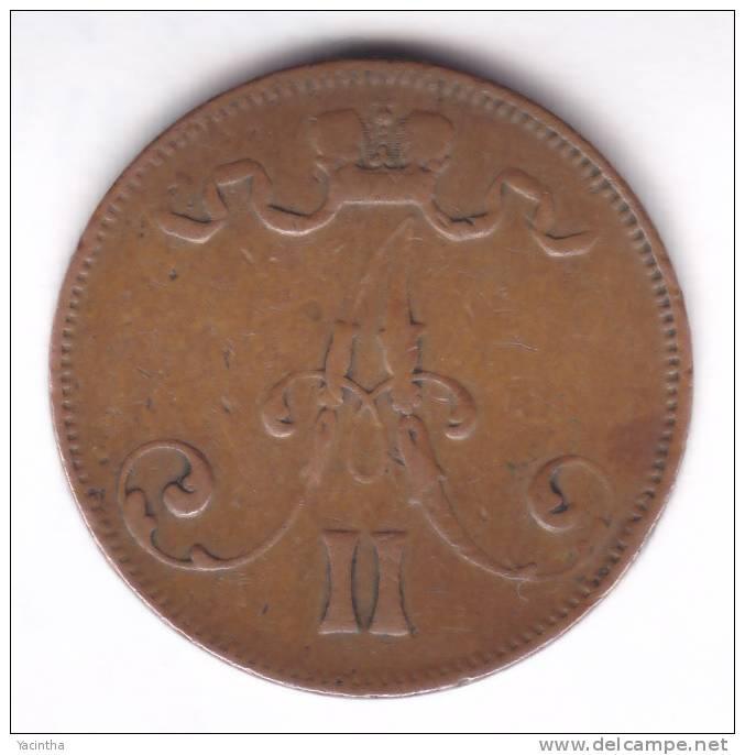 @Y@      Finland 5 Penni 1873   (2080) - Finnland