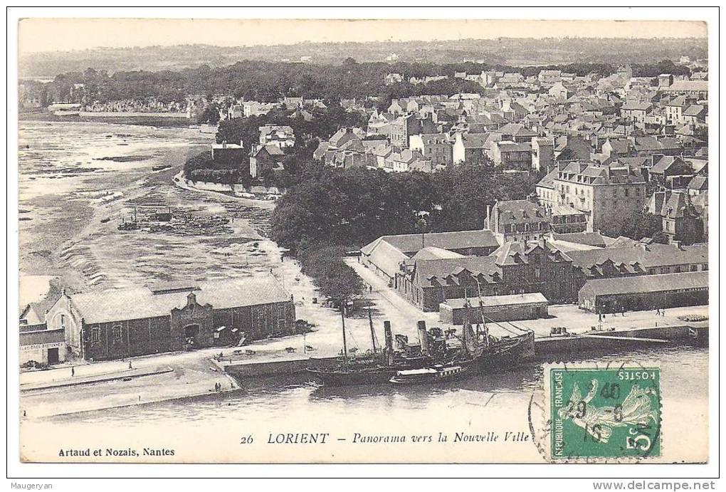 Lorient panorama vers la nouvelle ville for Piscine lorient