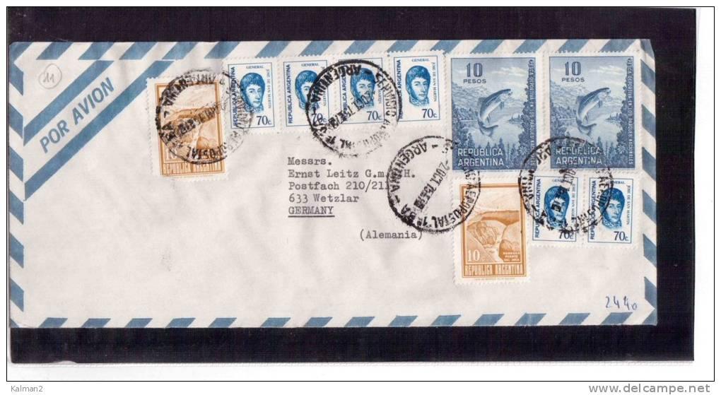 AV.595   -   ARGENTINA  POSTAL HISTORY - Argentina