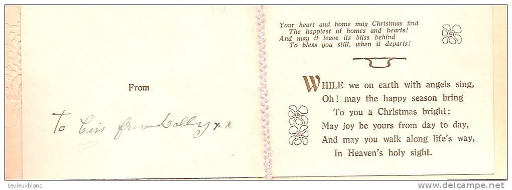 """Carte De Voeux/"""" Health""""/Angleterre/ Vers 1920-1930          CVE9 - Sin Clasificación"""