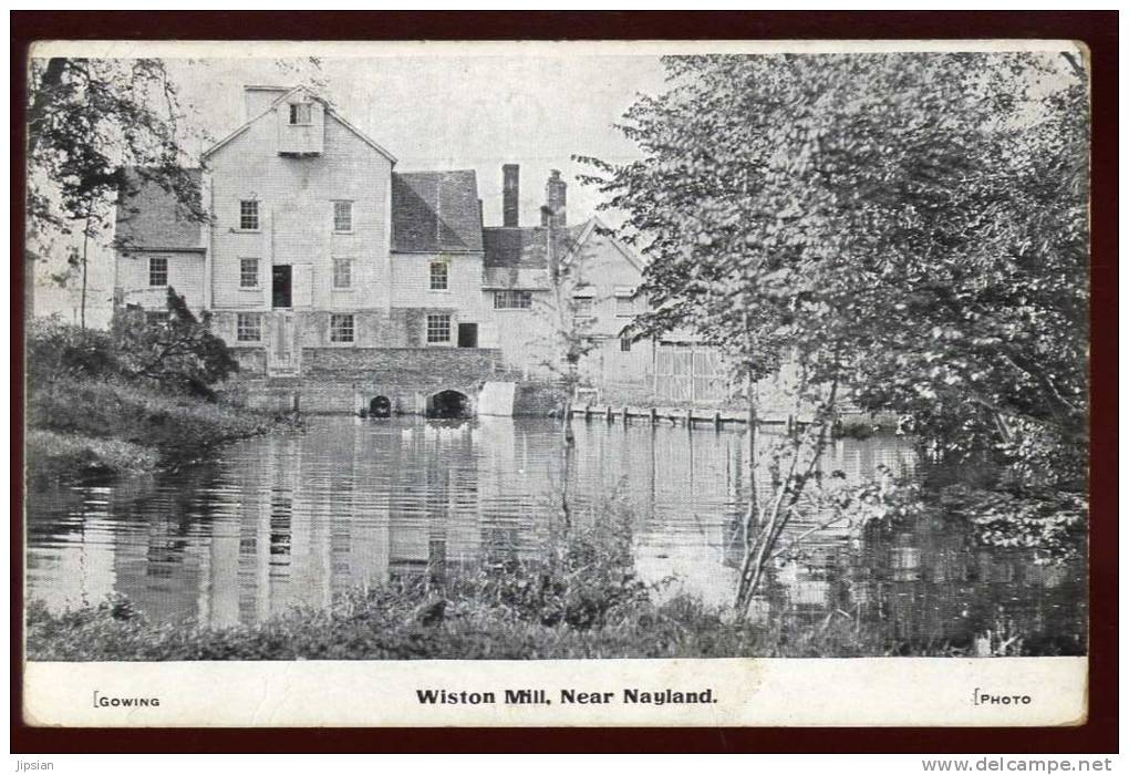 Cpa  D'  Angleterre  Wiston Mill Near  Nayland  Gowing Photo   SAB29 - Non Classés
