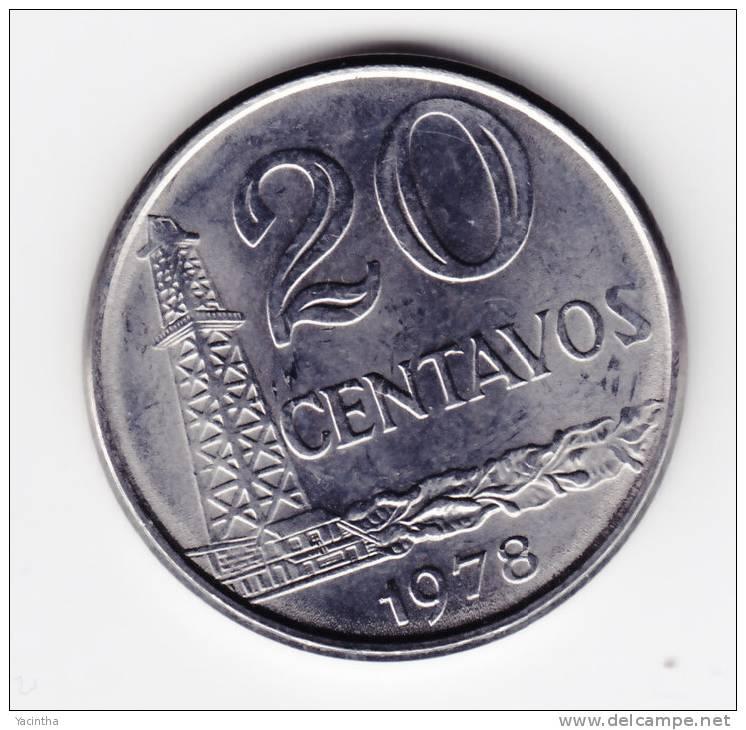 @Y@   Brazilië   20 Centavos  1978  UNC  (C221) - Brésil
