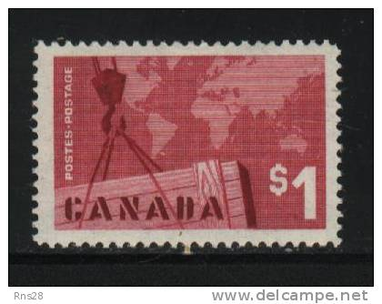 Canada Scott # 411 ( Z2 ) Hinged Value $ 10.00 - Oblitérés