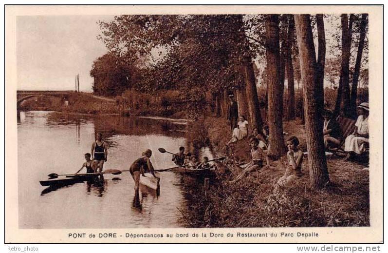 Pont Du Dore – Dépendances Au Bord De La Dore Du Restaurant Du Parc Depalle (canoé) - France