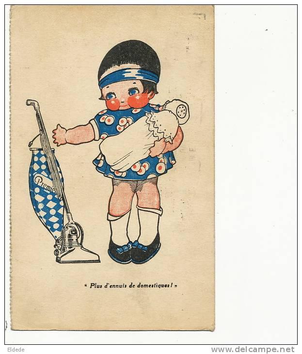 Liege Pub Aspirateurs Premier  Bd De La Sauveniere Coin Rue Du Pot D'Or 1926 - Liege