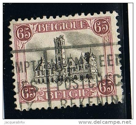 Belgie  ...  OBP  ...     182A   ....    O    .... Gebruikt  ... Oblitere  ..... Gebraucht  .....  Cancelled - Used Stamps
