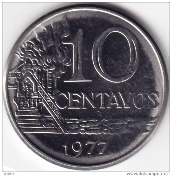 @Y@  Brazilië  10 Centavos  1977   UNC  FAO   (C262) - Brésil