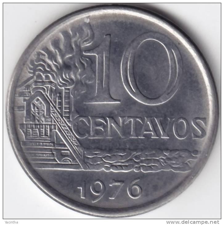 @Y@  Brazilië  10 Centavos  1976   UNC  FAO   (C263) - Brésil