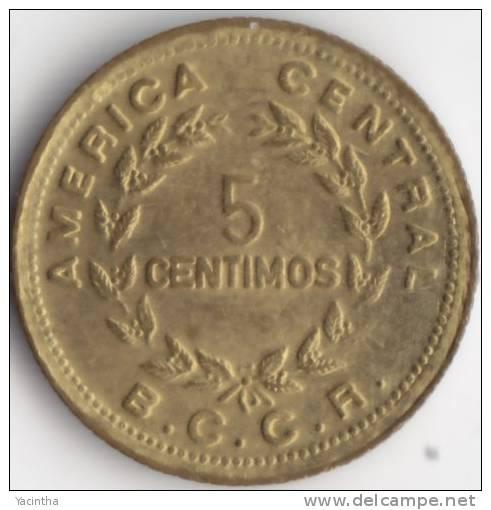 @Y@  Costa Rica   5 Centimos 1979  UNC   (C274) - Costa Rica