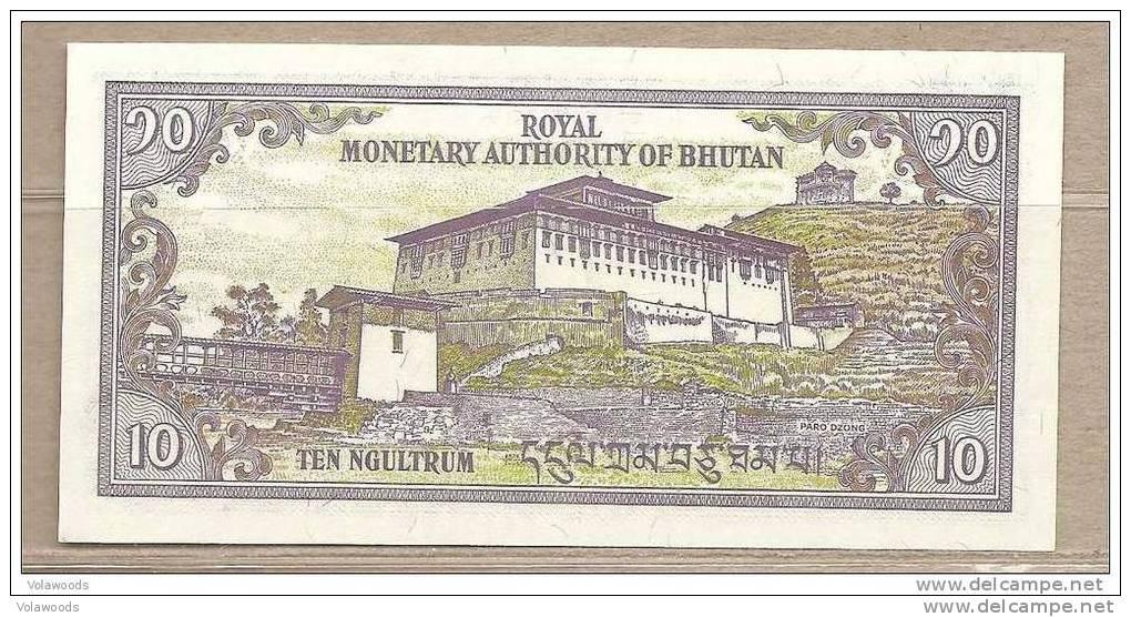 Bhutan - Banconota Non Circolata Da 10 Ngultrum - Bhutan
