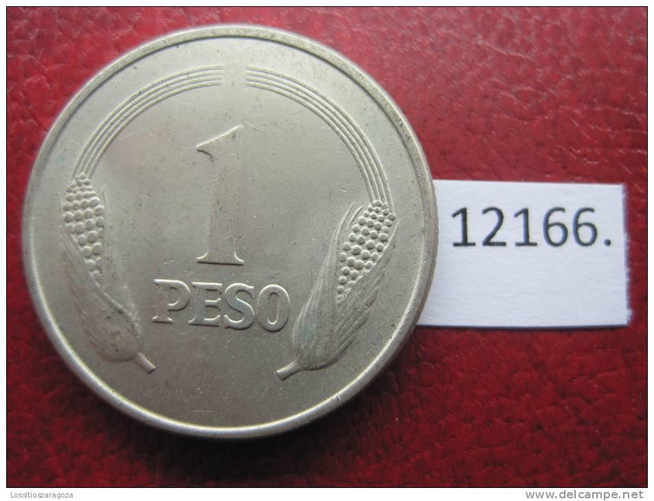 Colombia 1  Peso  1976 - Colombia