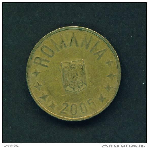 ROMANIA  -  2005  50 Bani  Circulated As Scan - Romania