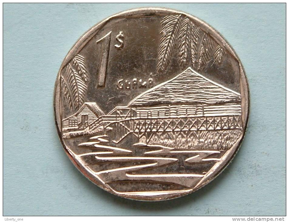 2000 - UN PESO / KM 579.2 ( Uncleaned Coin / For Grade, Please See Photo ) !! - Cuba