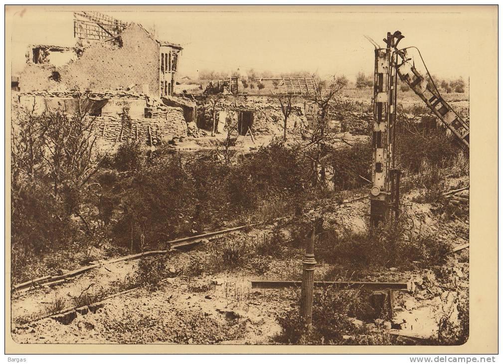 Planche Du Service Photographique Armée Belge Guerre 14-18 WW1 Caeskerke Gare La Halte Vers Dixmude - Libri, Riviste & Cataloghi