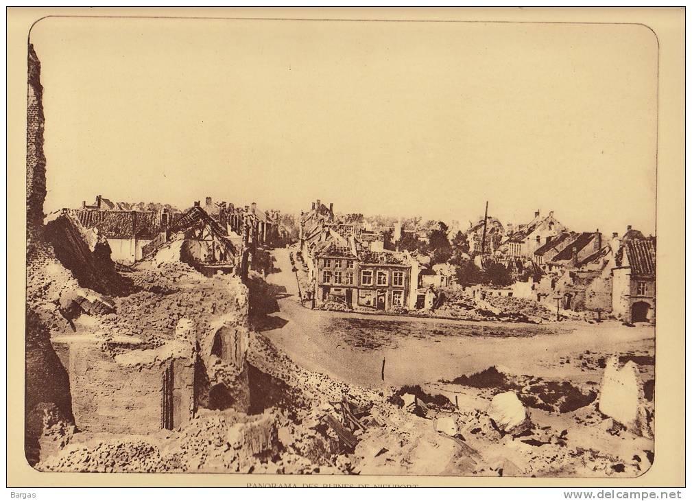 Planche Du Service Photographique Armée Belge Guerre 14-18 WW1 Ruine De Nieuport - Altri
