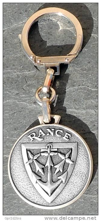 Porte-clé Augis-FIA NEUF Marine Nationale - Bâtiment Soutien Santé BSS Rance - Marine