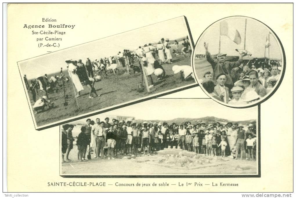 SAINTE-CECILE-PLAGE Par CAMIERS - Concours De Jeux De Plage - Autres Communes