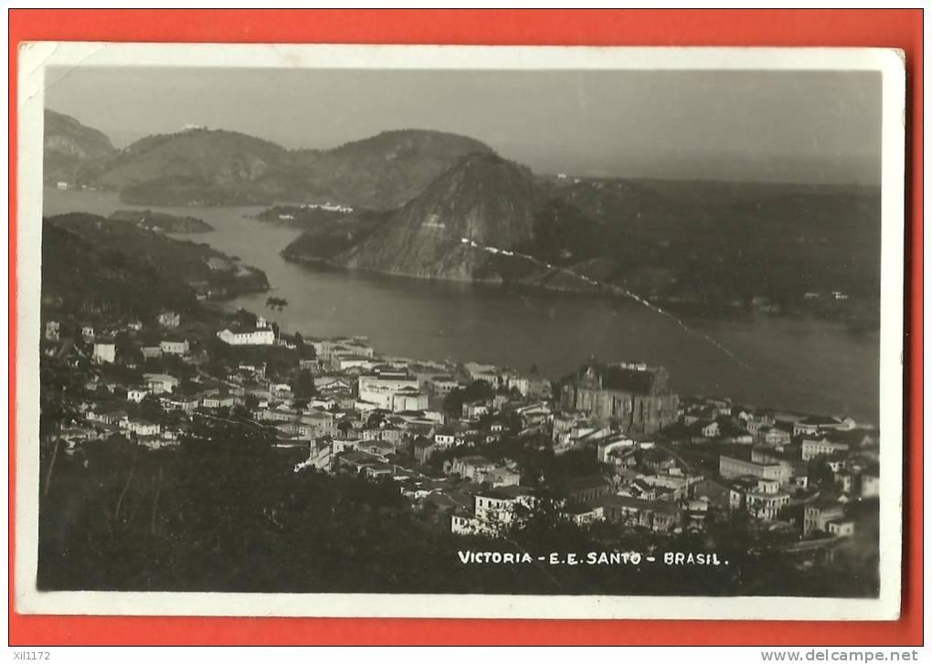 C1283  Victoria, Espirito Santo, Cachet 1938 Vers La Suisse Suissa. Petits Plis - Vitória