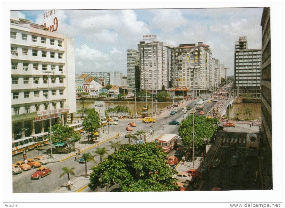 Brasil Brazil Brésil Recife - Av. Guararapes - Ponte Duarte Coelho - Conde Da Boa Vista - Cars Voitures - VG Condition - Recife