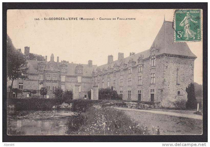 Saint-Georges-sur-Erve, Château De Foulletorte (53) - Otros Municipios