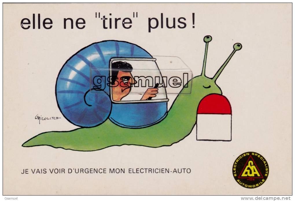 Marcophilie - Cachet - Chambre Syndicale Nationale Des électriciens Et Spécialistes De L'Automobile. (voir Scan). - Marcophilie (Lettres)