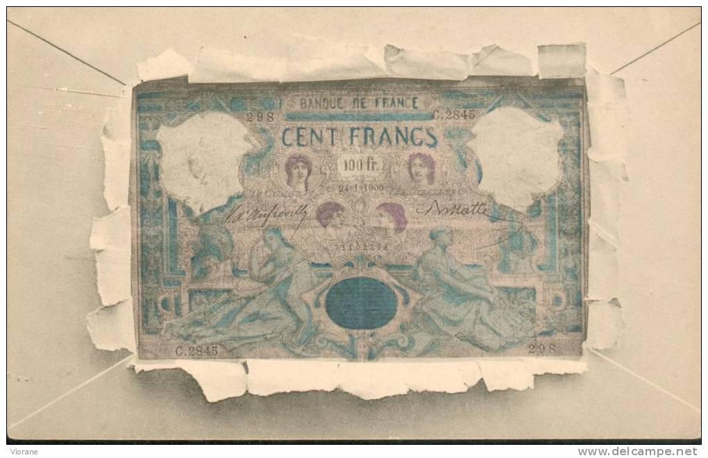 Billet   Français De 100 Fr - Monnaies (représentations)