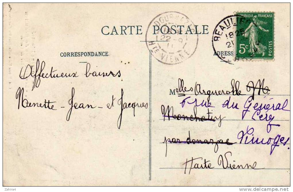 La Corrèze Illustrée - 47 - Les Environs De Beaulieu - Le Rocher De Carbes - France