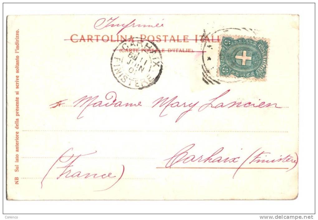 10564    NAPOLI  NAPLES   Via Caracciola   Grand Hotel   Vesuvio - Italia