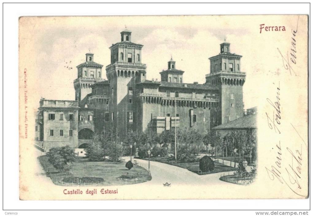 10576    FERRARA    CASTELLO DEGLI ESTENSI  1900 - Italia