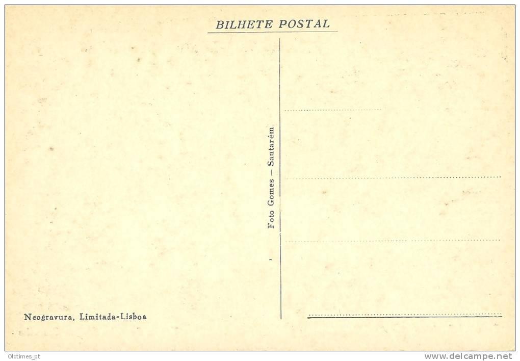 PORTUGAL - ALPIARÇA - PONTE - 1940 PC - Santarem