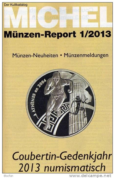 MICHEL Briefmarken Rundschau 1 + 1/2013plus Neu 10€ New Stamp Of The World Catalogue Magacine Of Germany 4 194371 105009 - Deutsch