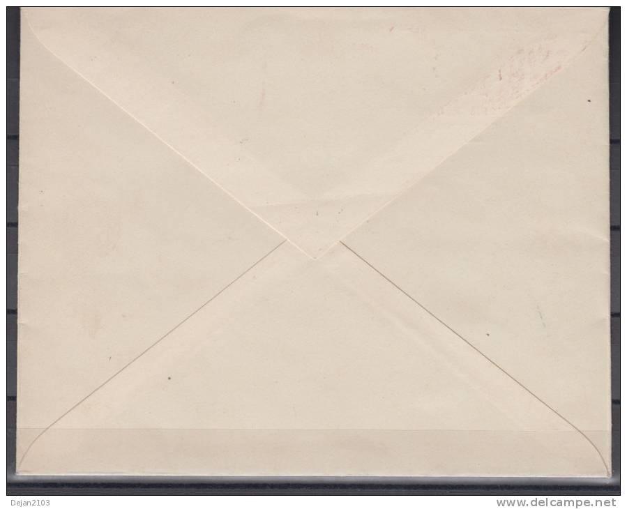 Germany Occupation Macedonia Letter Skoplje-Sofia ERROR 1944 USED - Used Stamps