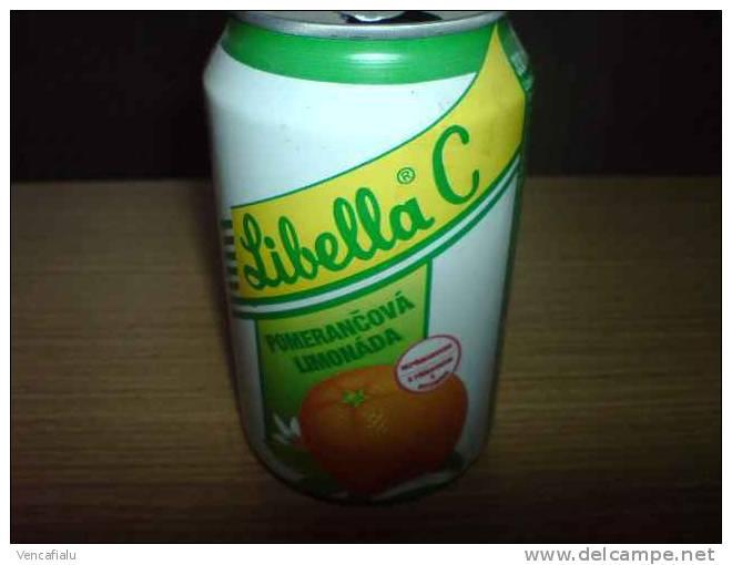 Orange Lemonade Libella C, 0,33 L,  Czech Rep. - Cannettes