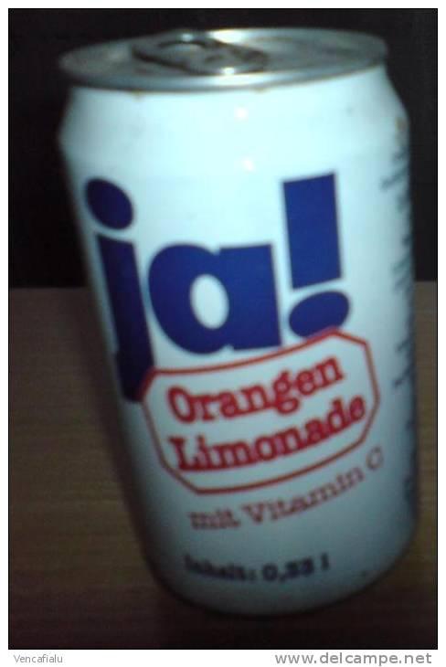Lemonade Ja! Orange, 0,33l, Germany - Cannettes
