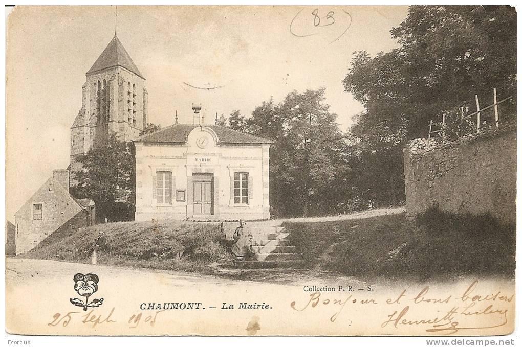 CPA - 89 - CHAUMONT -LA MAIRIE - France