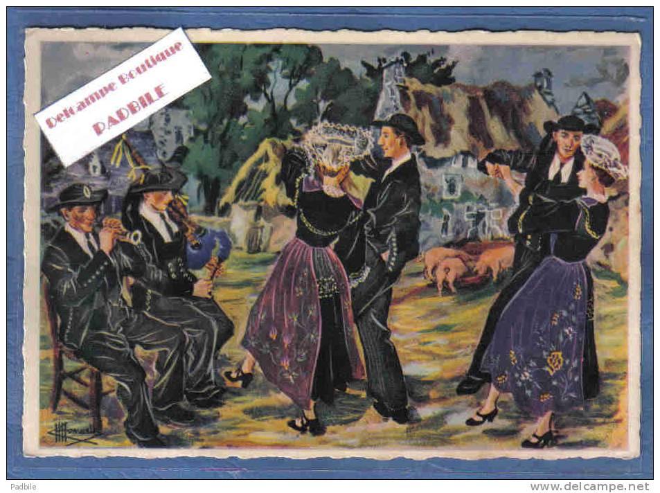Carte Postale Homualk Danse Ar Saillen  Région Lorient-Hennebont Trés Beau Plan - Homualk