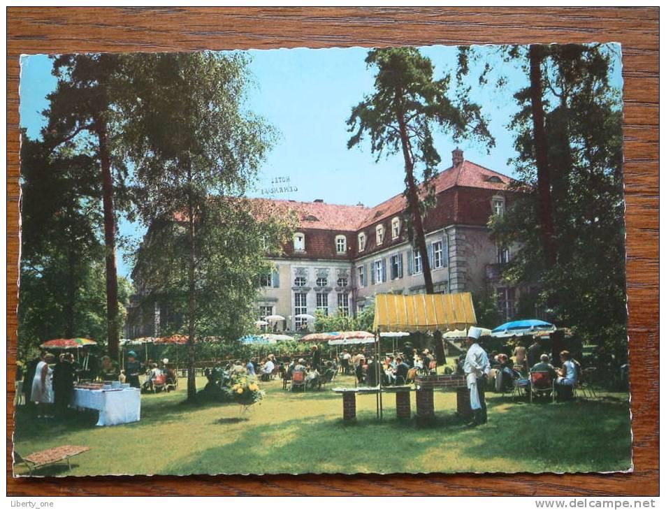 Schlos HOTEL GEHRHUS 1 Berlin 33 ( Grunewald ) Anno 1976 ( Zie/voir Foto Voor Details ) !! - Hotels & Restaurants