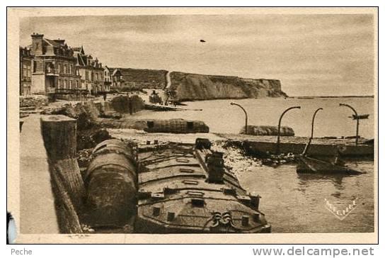 N°28896 -cpa Arromanches Les Bains --le Port De La Libération- - Guerre 1939-45