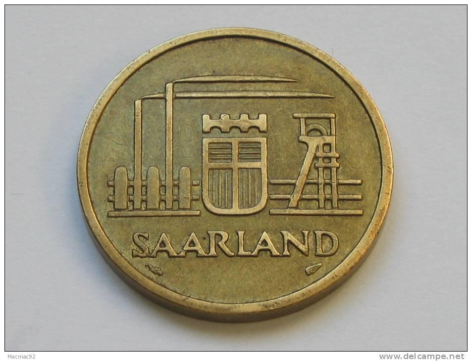 50 Franken 1954 - SARRE - Saarland - Etat Proche Du SUP !!!!  *** Monnaie Assez Rare **** - Saar