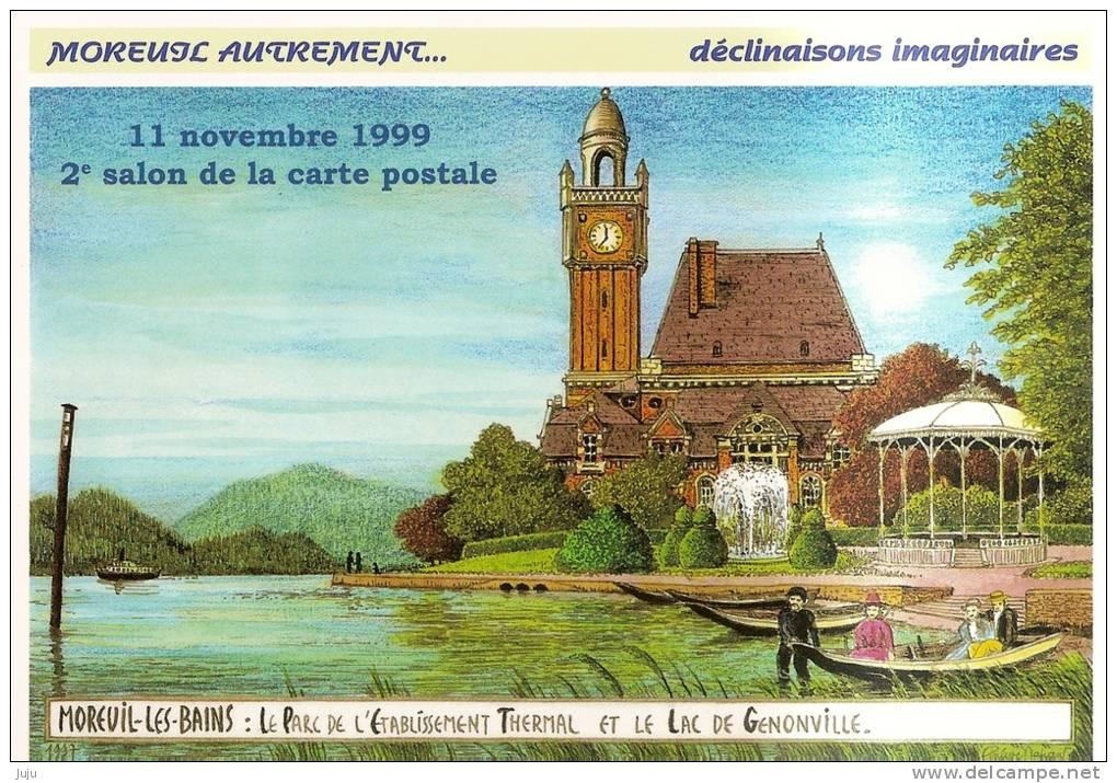 2 Cartes D´entrée De Bourse Aux Colletions - 80 - Moreuil 1999 Et  Abbeville 1999 - Altri