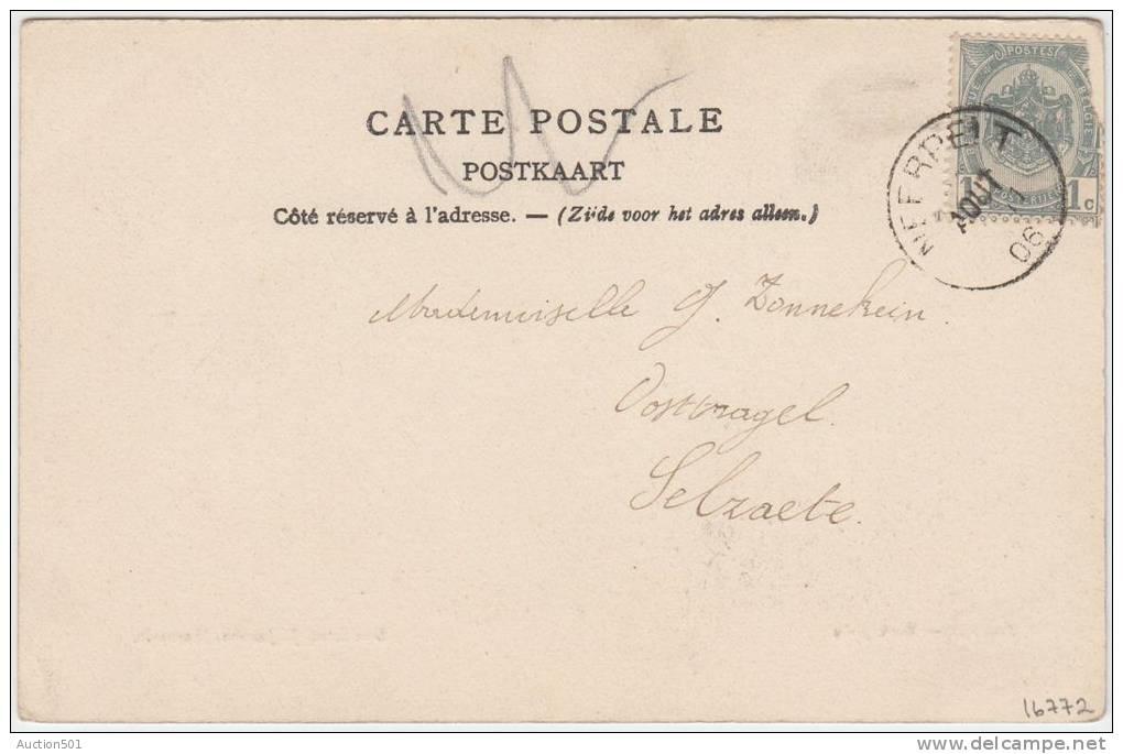16772g MARKTPLEIN - Overpelt - 1906 - Overpelt