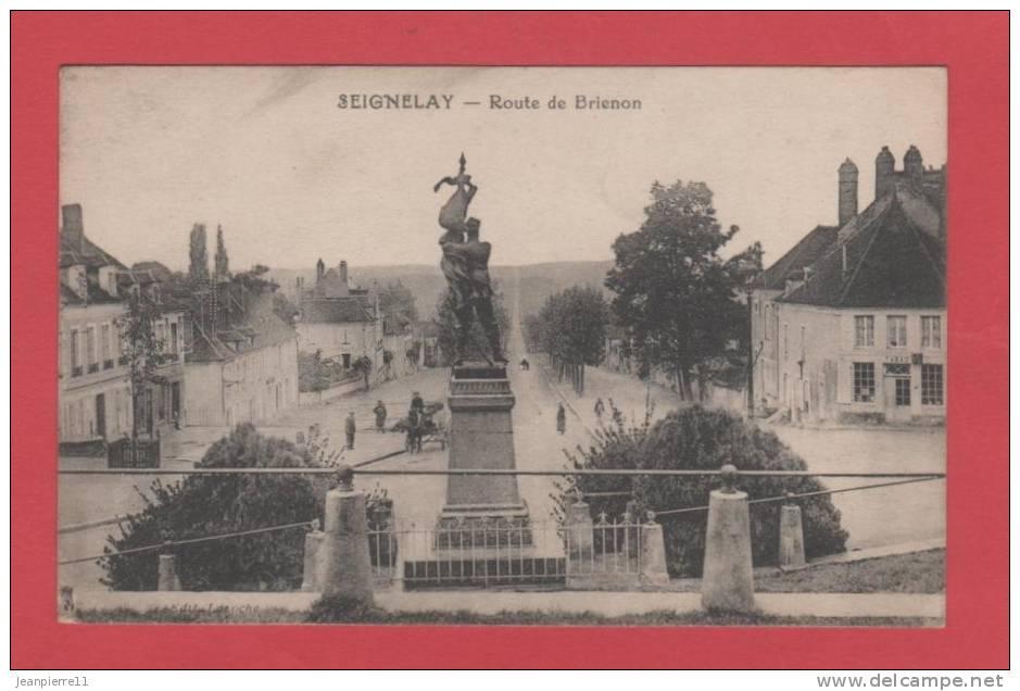 D89 Seignelay Route De Brienon  / Voir Les Scans - Seignelay