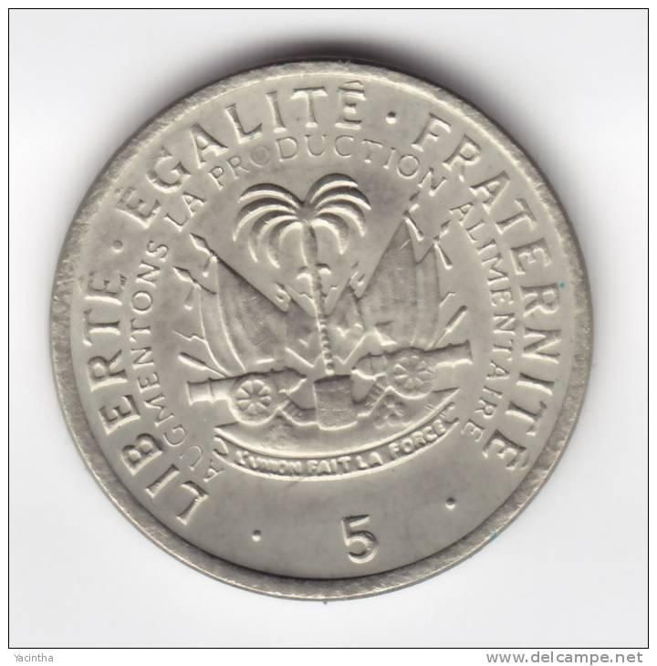 @Y@   Haiti  5 Cent 1975       (C547) - Haïti